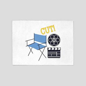 Movie Cut 5'x7'Area Rug