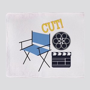 Movie Cut Throw Blanket