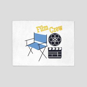 Film Crew 5'x7'Area Rug