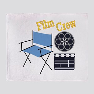Film Crew Throw Blanket