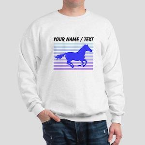Custom Horse Graphic Sweatshirt