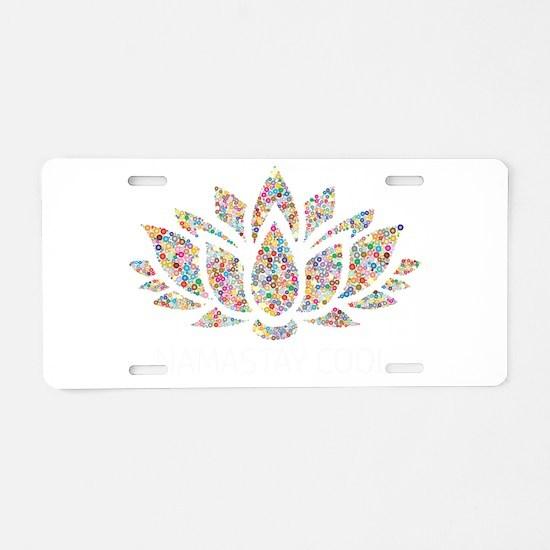 Cute Breathe Aluminum License Plate