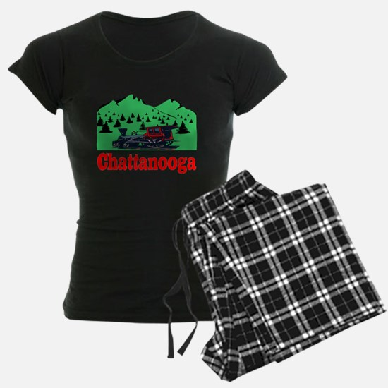 Chatanogga train Pajamas