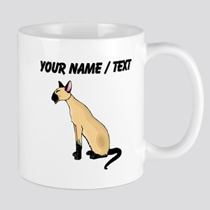 Custom Siamese Cat Mugs
