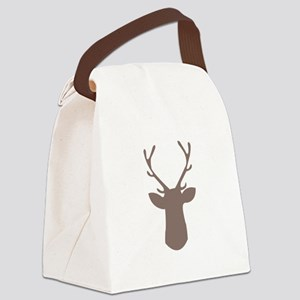 Deer Head Canvas Lunch Bag