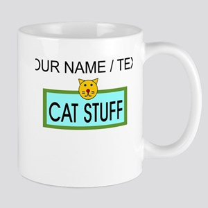 Custom Cat Stuff Mugs