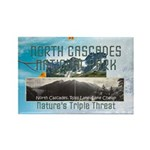 North Cascades Rectangle Magnet (100 pack)