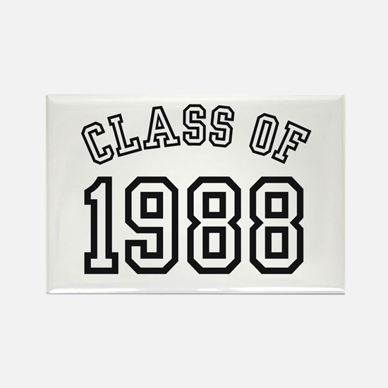 Class of 1988 Rectangle Magnet
