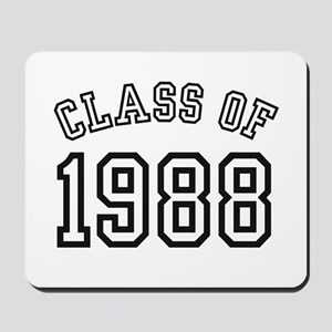 Class of 1988 Mousepad