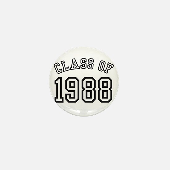 Class of 1988 Mini Button