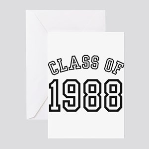 Class of 1988 Greeting Cards (Pk of 10)