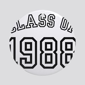 Class of 1988 Ornament (Round)