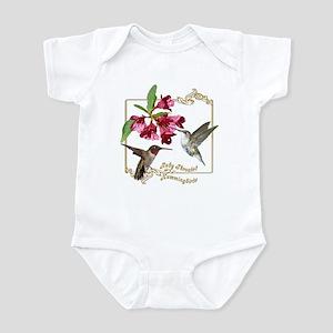 Hummingbird Pair Infant Bodysuit