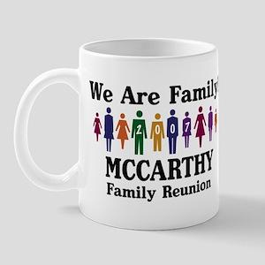 MCCARTHY reunion (we are fami Mug