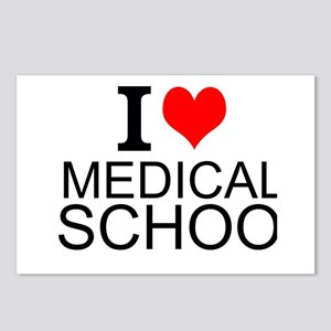 I Love Medical School Postcards (Package of 8)