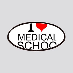 I Love Medical School Patches