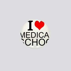 I Love Medical School Mini Button