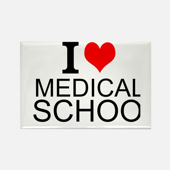 I Love Medical School Magnets