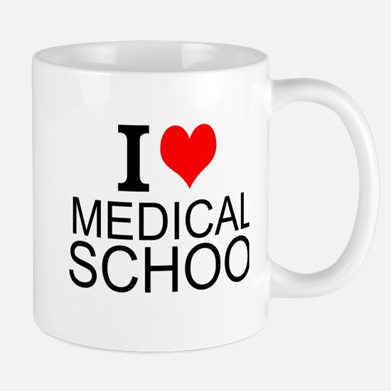 I Love Medical School Mugs