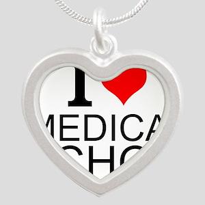 I Love Medical School Necklaces