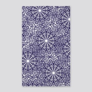 Blue Lace Area Rug