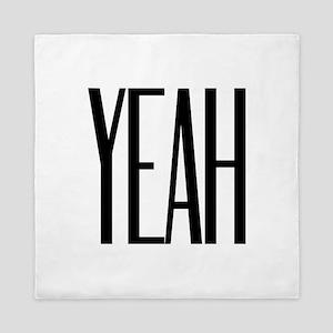YEAH! Attitude Fun Design Queen Duvet