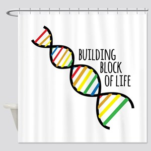 Block Of Life Shower Curtain
