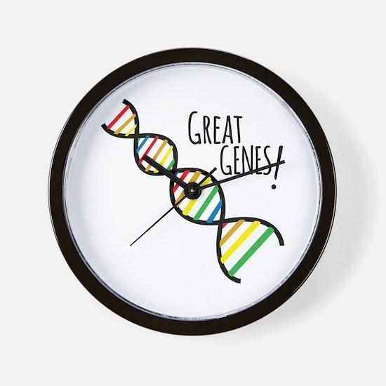 Great Genes Wall Clock