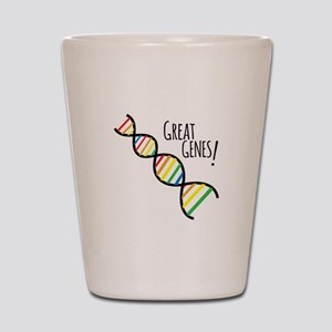 Great Genes Shot Glass
