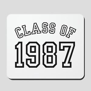 Class of 1987 Mousepad