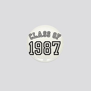 Class of 1987 Mini Button
