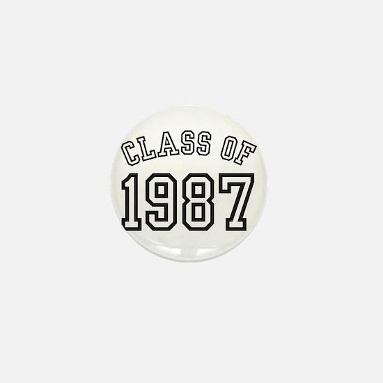 Class of 1987 Mini Button