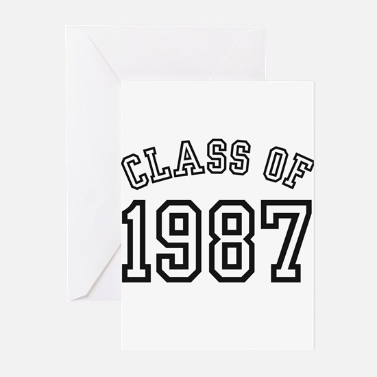 Class of 1987 Greeting Cards (Pk of 10)