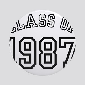 Class of 1987 Ornament (Round)
