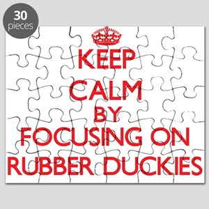 Keep Calm by focusing on Rubber Duckies Puzzle