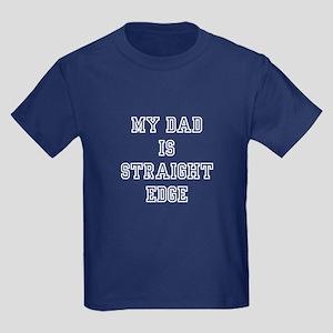 my sXe dad Kids Dark T-Shirt
