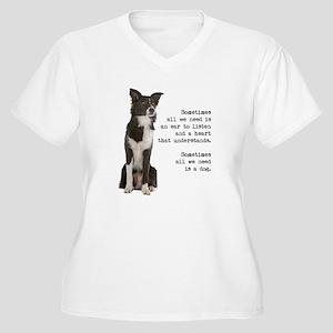 Border Collie Plus Size T-Shirt
