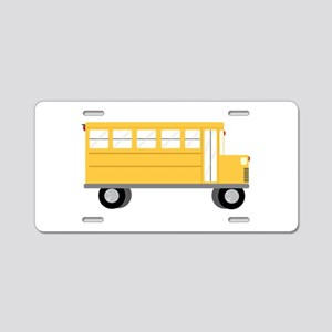 School Bus Aluminum License Plate