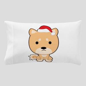 Holiday Shiba Pillow Case