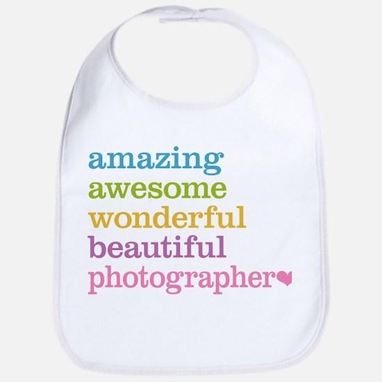Awesome Photographer Bib