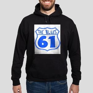 Blues Highway Hoodie (dark)