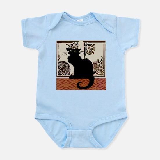Gothic Black Cat Body Suit
