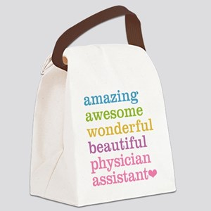 Physician Assistant Canvas Lunch Bag
