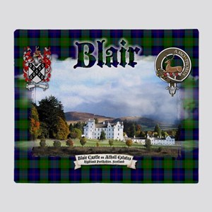 Blair Castle Throw Blanket