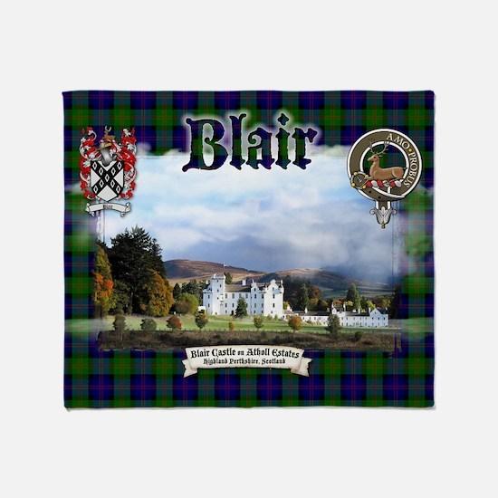 Blair Castle Throw Blanket