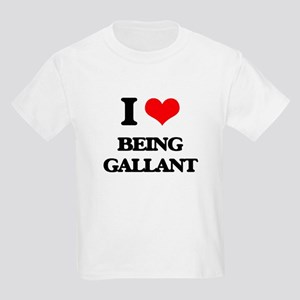 I Love Being Gallant T-Shirt