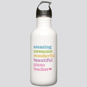 Piano Teacher Stainless Water Bottle 1.0L
