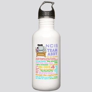NCIS Abby Stainless Water Bottle 1.0L