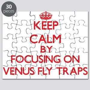 Keep Calm by focusing on Venus Fly Traps Puzzle