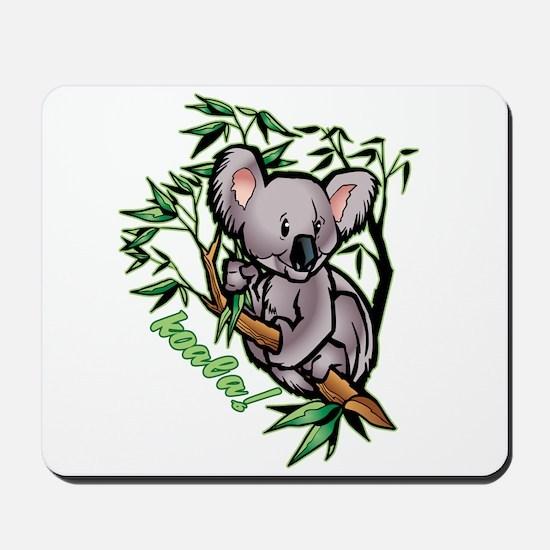 Koala! Bear Mousepad